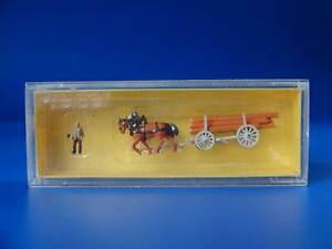 PREISER - 8601 - horse drawn carriage cart / EXC