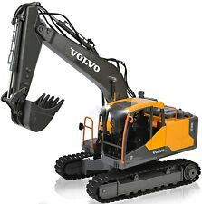 RC Excavator Construction Truck 17 Channel 1/16 Scale Truck Digger Toy For Kids