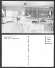 Old Iowa Postcard - Le Mars - Westmar College - Weidler Hall Cafeteria