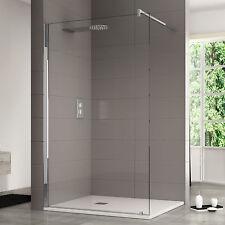 Box doccia 110 cm parete walk in cristallo anticalcare 10mm altezza 200 h novità