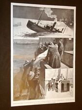 L'affondamento dell'Hull nel 1904 Corpo del Capitano Crane a bordo del Moulmein
