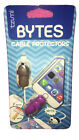 Tzumi Cord Bytes Cable Protectors 2 Pack, Puppy And Hippo