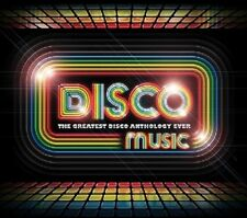VARIOUS ARTISTS - DISCO MUSIC: THE GREATEST DISCO ANTHOLOGY EVER NEW CD