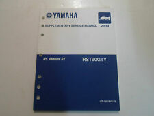 2009 Yamaha RS Venture GT RST90GTY Supplementary Service Manual FACTORY NEW 09 x