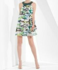 NEW BCBG MAXAZRIA SILK SLEEVELESS DRESS SIZE 10 OKU6E161