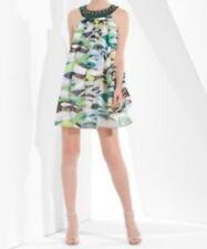 NEW BCBG MAXAZRIA SILK SLEEVELESS DRESS SIZE 10 OKU6E161
