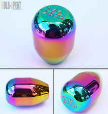 FOR HONDA/ACURA 6 SPEED HEAVY WEIGHTED NEO CHROME TRANSMISSION SHIFT GEAR KNOB