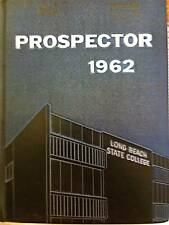 """1962 LONG BEACH State College or University YEARBOOK """"PROSPECTOR"""" ~barely used"""