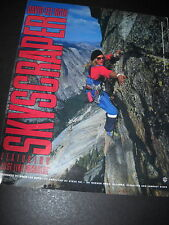 David Lee Roth Mountain Climber 1988 Promo Poster Ad mint condition