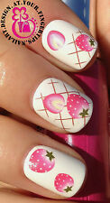NAIL ART WATER TRANSFERS STICKERS DECALS SUMMER STRAWBERRIES/STRAWBERRY #426