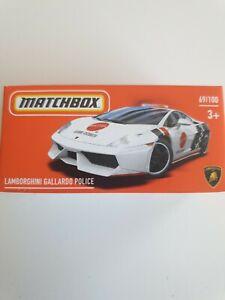 Matchbox Lamborghini Gallardo Police Car 69/100 2021