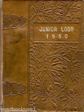 Levelland Junior High School Texas 1950 Junior Lobo Yearbook Annual Middle
