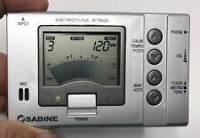 Sabine MetroTune Mt-9000 Chromatic Auto Tuner + Metronome + Tone Generator - Lcd
