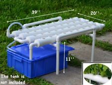 Hydroponic Grow Kit 36 Sites 4 Pipes 1 Layer Garden Plant Vegetable Tool