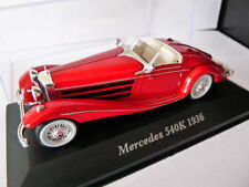 Coche 1/43 IXO Altaya Classic MERCEDES 540K 1936