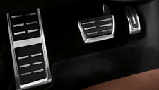 Original Audi A3 8V/TT 8S Stainless Steel Pedal Caps with Foot Rests 8V1064205A