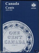 """Unisafe Coin Folder - """"Canada Large Cents 1858-1920""""  **UNUSED** $4.99 each"""