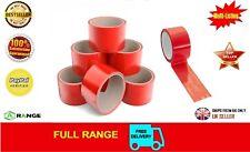 180 Rollo Rojo Paquete de Cinta de Embalaje Surtido De Color Rojo Embalaje De Embalaje 50 Mm x 66 M
