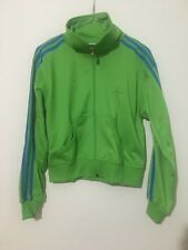 ADIDAS FELPA GIACCA JACKET VINTAGE DONNA TAG SIZE S