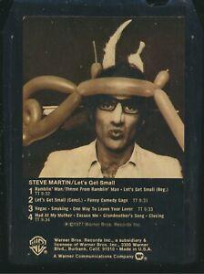 8 Track Tape - Steve Martin - Let's Get Small - Warner Bros. M8 3090