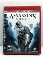 Assassin's Creed - PlayStation 3 PS3 - Complete w/ Manual - Tested Working
