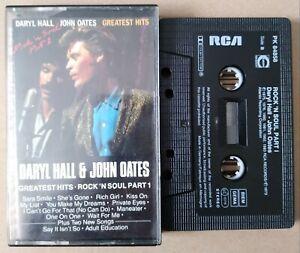 Vintage Cassette tape Daryl Hall & John Oates Greatest Hits Rock 'N Soul Part 1