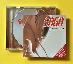 Saga 'Money Talks' CD single (SPV, 2001) incl. 2 tracks & 'Money Talks' video!