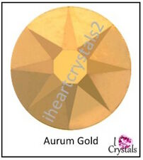 AURUM GOLD 5ss 1.8mm 144 pieces SWAROVSKI Solid Crystal Flatback Rhinestone 2058