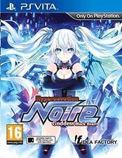 PlayStation Vita Hyperdevotion Noire Goddess Black Heart VideoGames