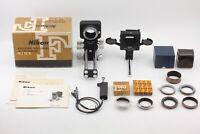 DHL✈【TOP MINT】Nikon Bellows Focusing Unit PB-4 w/ PS-4 Nippon Kougaku from JAPAN