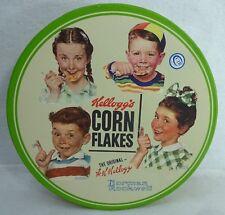 ZRIKE company KELLOGG'S CORN FLAKES 4-piece Breakfast Plate Set -Norman Rockwell