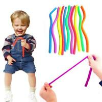 6PCS Stretchy String Sensory Fidget Toys Autism Stress Therapy for Kids Adult LH