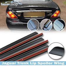 Unpainted Jaguar X Type Sedan Rear Trunk Lip Spoiler Wing 01-08