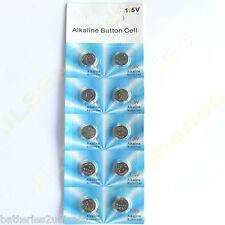 20 x Alkaline Button Cell Batteries AG10 LR1130 389 LR54