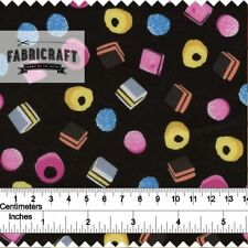 """Crafts Food & Drink Unbranded 46 - 59"""" Fabric"""