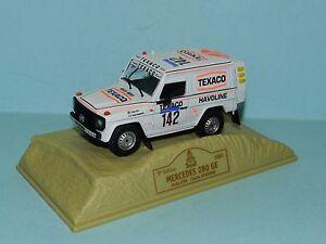 Norev Mercedes 280 GE Paris Dakar Rally 1983 Ickx/Brasser new in display case