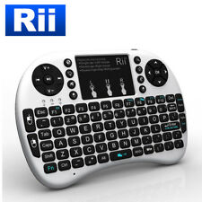 Genuine Rii i8+ Wireless 2.4Ghz USB Mini Keyboard Mouse Touchpad with Backlight