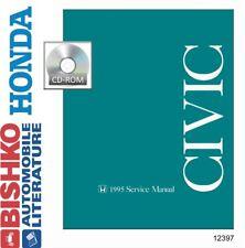 1995 Honda Civic Shop Service Repair Manual DVD Engine Drivetrain Wiring OEM