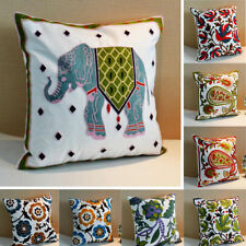 """17x17"""" Size Bedroom Decorative Cushion Covers"""