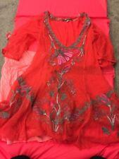 Biya Floral Embroidered Tunic Xs