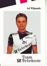 CYCLISME carte  cycliste AD WIJNANDS équipe TEAM TELEKOM 1992
