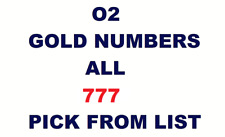 O2 GOLD VIP BUSUNESS NUMBER DIAMOND PLATINUM SIM CARD PICK FROM LIST 777 LUCKY 7
