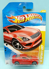 2045 HOT WHEELS / CARTE US / 2010 NEW MODELS / INFINITY G 37 ROUGE 1/64