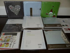 Creative Memories 8x8 Coverset Albums Lot Christmas Baby Pages Protectors Kits