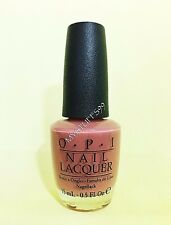 """Opi Nail Lacquer """"Nl S46 Java Mauve-A"""" South Seas Collection 1997*Missing Label*"""