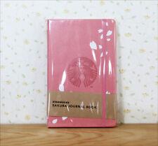 Free shipping ! NEW Starbucks JAPAN 2018 SAKURA JOURNAL BOOK