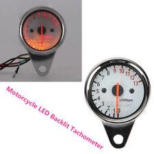 Motorcycle LED Backlit Tachometer For Harley Davidson XL Sportster 1200 Custom