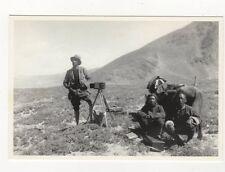 Major Wheeler Survey Party Mount Everest Expedition 1921 Repro Card 588a