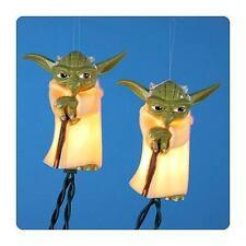 Star Wars Yoda Jedi 10 Holiday Light Set Disney Christmas Indoor/Outdoor Patio