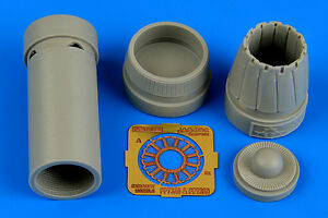 Aires 1/72 Saab JAS-39C Gripen Exhaust Nozzle (Closed) for Revell kit